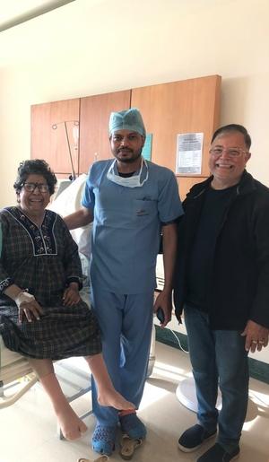 Happy Patient - 3rd day post Bilateral Knee Replacement|Dr.Gaurav Gupta|New Dwarka store,Dehradun