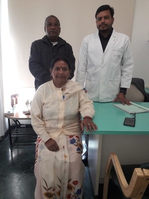 Happy Patient from calcutta post Knee Replacement surgery for the both knee|Dr.Gaurav Gupta|New Dwarka store,Dehradun